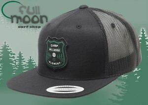 New Element Roamer Camp Millwood Mens Snapback Trucker Cap Hat