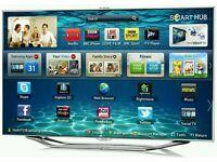 "Samsung 40"" LED smart 3D built Camera HD freeview freesat full HD 1080p"