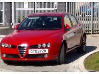 Alpha Romeo 159 (09 reg Petrol)