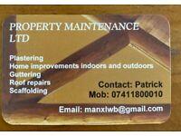 PLASTERING,builder Maintenance