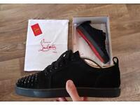 Christian Louboutin - Junior suede low-top trainers | Size UK 10
