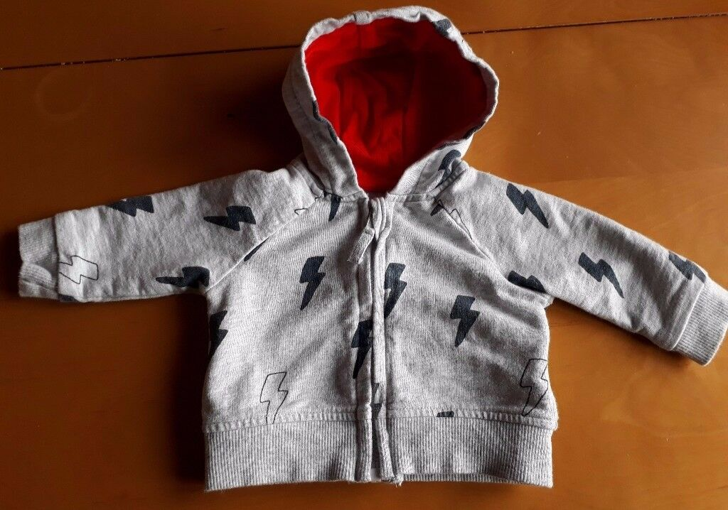 Mothercare Boys hoodie, newborn size