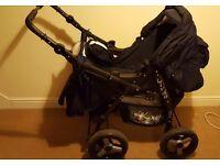 Pushchair, carrycot, car seat, bag, real bargain