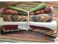 Remnant Fabrics / Laura Ashley / Osbourne & Little / Linen/ Tapestry / Sewing Craft Materials 3
