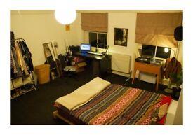 Spacious double room in 2 bedroom flat (SE3)