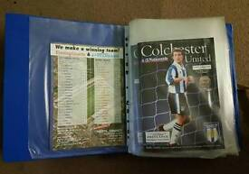 Colchester United Matchday Programmes