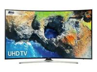 Samsung 55mu6200 55 INCH curved 4k UHD with HDR