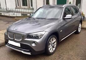 BMW X1 xDrive 23d SE. Very low mileage, 2 previous owners, full service history