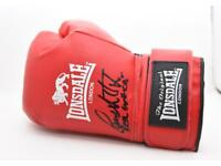 Signed boxing glove by Paul Smith