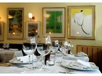STATION WAITER WANTED FOR BUSY MAYFAIR RESTAURANT