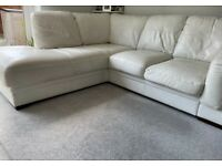 Leather Corner sofa AND 3 seater set