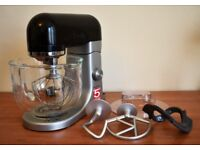 Kenwood Kmix Stand Mixer KMX5 5L Black + All Attachments