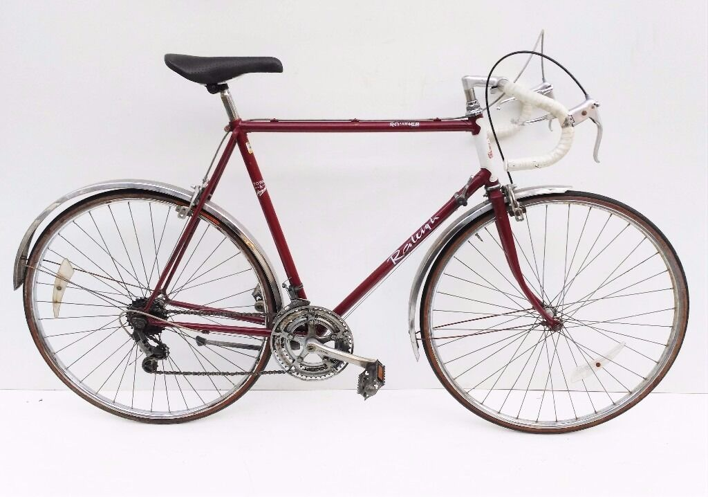 vintage Raleigh Routier steel racing/touring bicycle