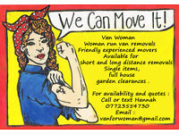 Van Woman - Removals