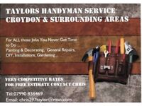 Affordable local handyman 7 days a week Call Chris day or evening