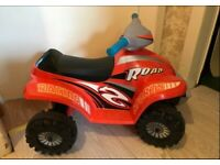 Kids electric quad with charger...............smoke free home