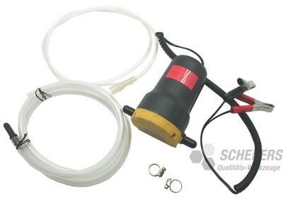 HT 10390 elektr.  12Volt Pumpe Flüssigkeitspumpe, Öl, Wasser Pumpe 60W, 5A
