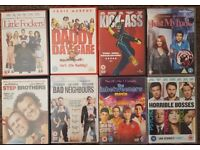 8 DVDs for £20