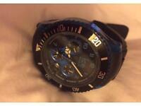 Men's ice chronograph watch