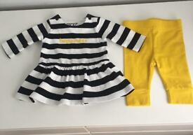 Mothercare baby girl clothes bundle