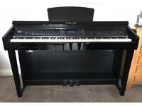 Yamaha CVP-601 digital piano - gloss black ebony finish - immaculate condition