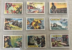 A&BC BATTLE Cards – Complete Set 1-73 in Plastic Wallet..