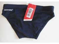 "Boys Junior Speedo Endurance Trunks. Navy. Size 30"" (75cm)."