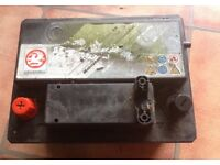 Car battery from a Vauxhall Corsa