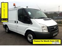 Ford Transit 2.2 300, 1 Owner - EX BT , -, 1YR MOT ,101K Miles,Elec Windows, Warranty