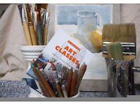 Art classes - painting / drawing / mixed media