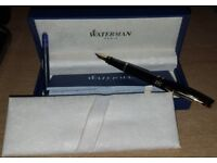 Waterman Expert Black GT Fountain Pen