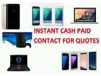 CASH PAID - SAMSUNG GALAXY NOTE 8 S8 S8 PLUS IPHONE 7 7 PLUS S7 EDGE A3 A5 J3 J5 TAB S S3