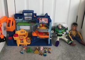 Toy story bundle buzz woody