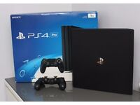 Playstation 4 PS4 Pro 1TB Console *As New Condition Boxed with Everything*