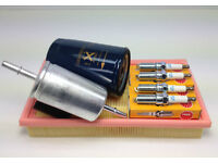 FORD FOCUS MK1 1.4 1.6 1.8 98-04 SERVICE KIT AIR FUEL OIL NGK PLUGS