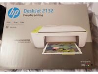 HP Deskjet 2132 All-In-One Printer (Printer and Scanner) with box