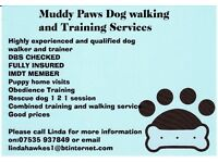 Muddy Paws Dog walking and Training services