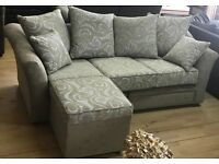 CORNER SOFA BRAND NEW AS IN PIC WAS £699 MOVABLE CHAISE FREE DELIVERY
