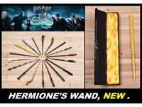 Harry Potter - Hermione's Wand! New, boxed