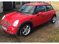 Mini One. 2005. 1.6. Red. New M.O.T.