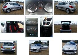 Peugeot 207, Diesel, 2006 **1 year MOT** **LOW MILEAGE** **£30 TO TAX** **IDEAL FIRST CAR**
