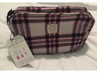 Jack Wills Travel / Cosmetics Bag - BNWT