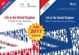 2 Book Set British Citizenship Test A Guide for New Residents and the Practice Q & A's