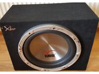 CAR ACTIVE SUBWOOFER CONDOR 1000 WATT 12 INCH BASS BOX WITH BUILD IN AMPLIFIER SUB WOOFER AMP