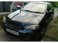 Vauxhall astra black bertone coupe