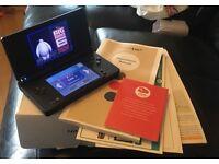 As New Boxed Matte Black Nintendo DSI
