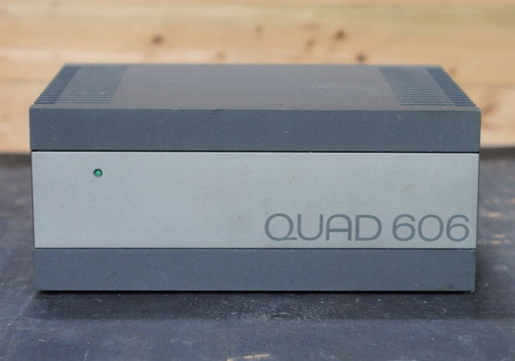 Nice Vintage Quad 606 Stereo Power Amplifier