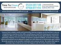 Time to clean Bedfordshire DOMESTIC COMMERCIAL IRONING CARPET AND UPHOLSTERY
