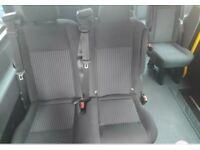 Mk8 transit rear seats trim headliner, overhead luggage rack