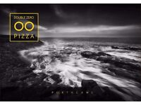 Double Zero Pizza are recruiting enthusiastic Waiters, Waitresses and Bar staff £8.00 per hour